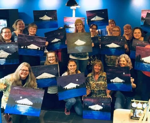 2019 AAWCC Paint Night