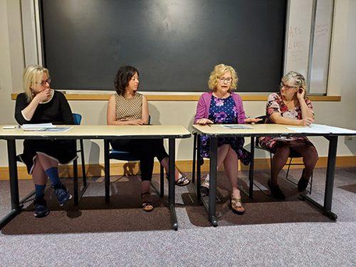 Resume workshop panel