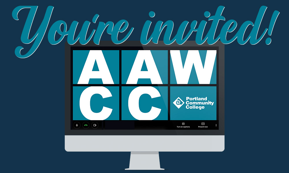 You're invited to an AAWCC Zoom session!