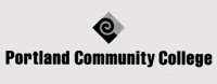 Logo with PCC Diamond above the words Portland Community College