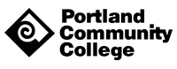 Logo with PCC Diamond to the left of the words Portland Community College