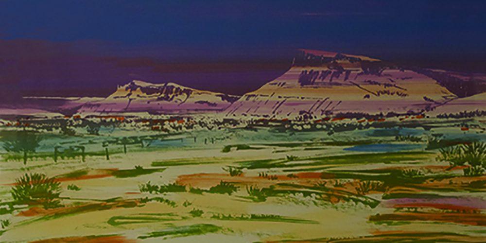 Untitled, (desert landscape)