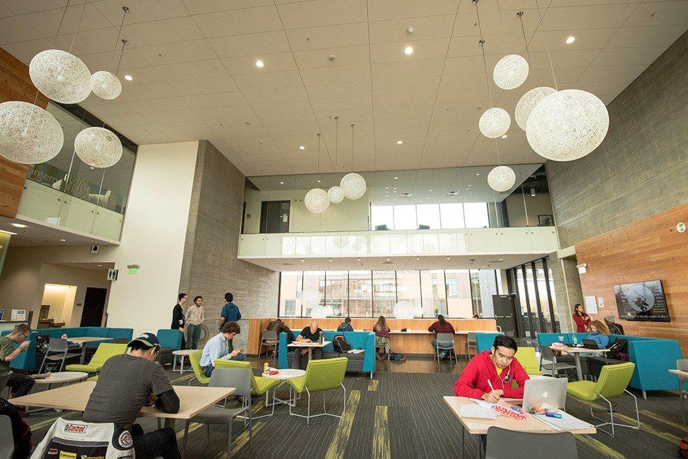 New Cascade Campus building interior