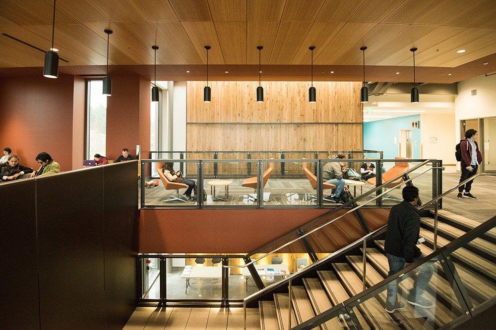 New Rock Creek Campus building interior