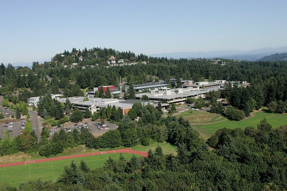 Aerial view of Sylvania Campus
