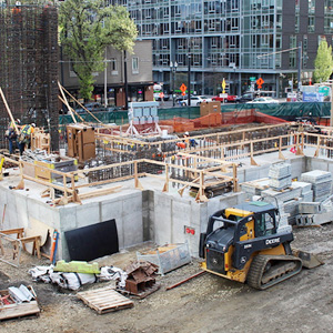 Fourth & Montgomery construction site