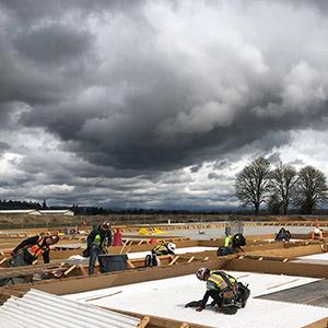 OMIC construction site