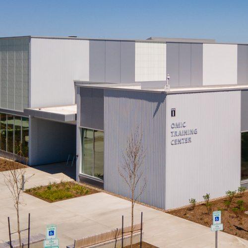 Digital rendering of the OMIC building