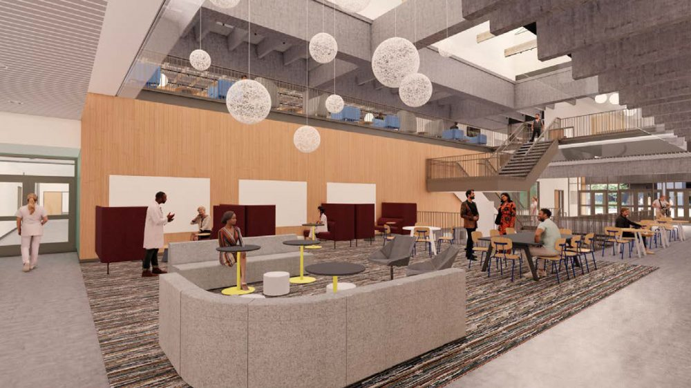 Rendering of HT level 2 collaboration area
