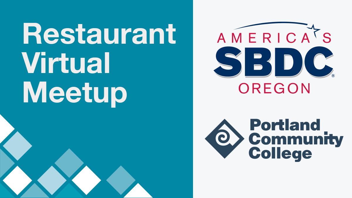 PCC SBDC Restaurant Virtual Meetup