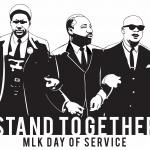 MLK Day of Service Logo