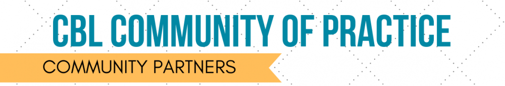 Header for Community of Practice for Community Partners