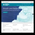 PCC website homepage