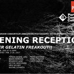 Opening recpetion Silver Gelatin Freakout