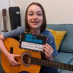 PDX teen from guitar class
