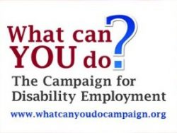 Campaign for Disability Employment logo
