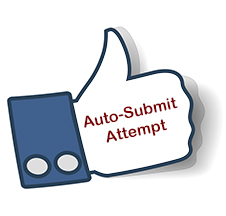 Thumbs up to Auto-Submit Attempt