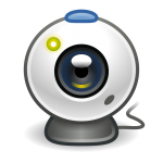 Webcam icon - image from Wikimedia Commons