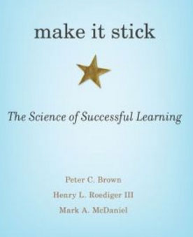 The cover of the book Make It Stick