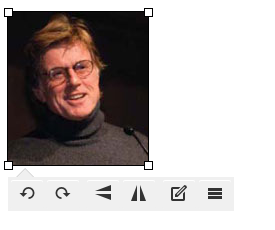 The HTML editor now allows you to make small adjustments to images like rotating, adding captions, and more