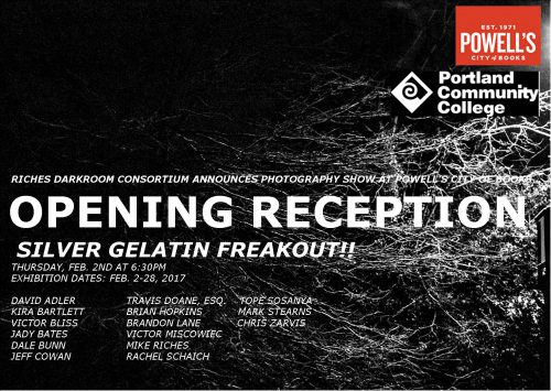 Opening reception poster