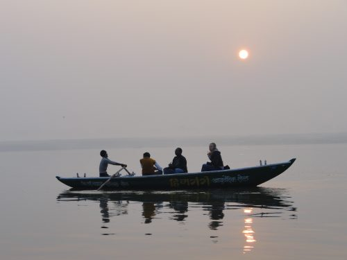 Boat on the Ganges