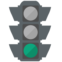 green stoplight