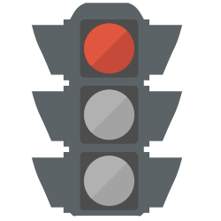 Financial aid stoplight