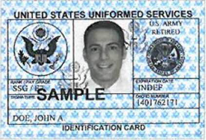 army regulations of a military id card O adds information on dod guard/reserve family member id card  army  regulation 600-8-14  active army, the army national guard.