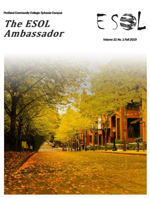 Fall 2019 Ambassador cover