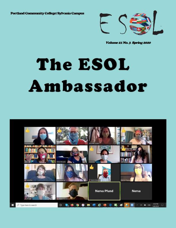 Ambassador Spring 2020 cover