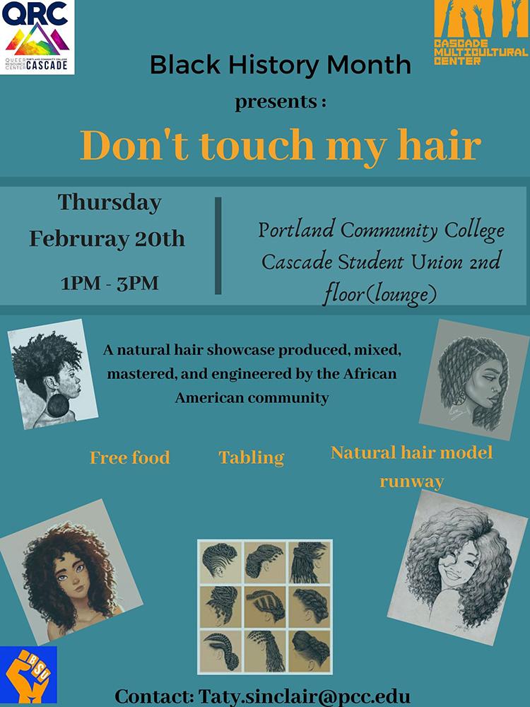 Natural Hair Showcase poster