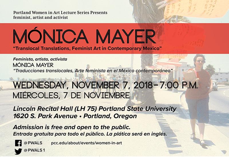 Monica Mayer poster
