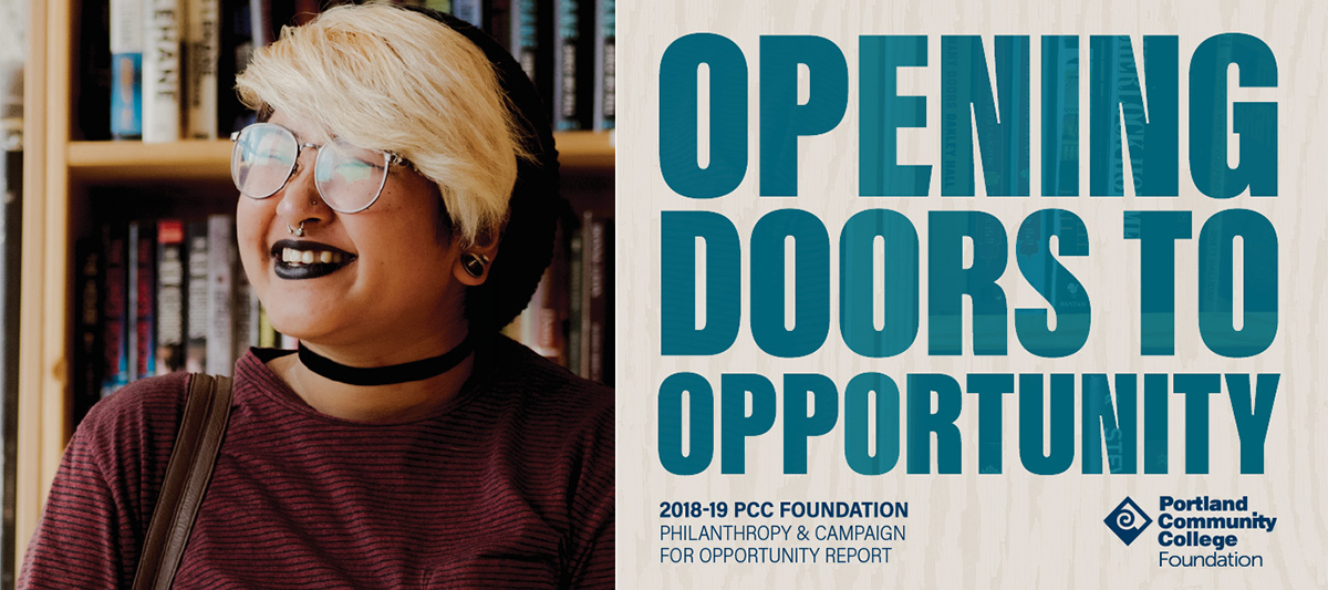 Opening Doors to Opportunity: 2018-19 PCC Philanthropy & Campaign for Opportunity Report