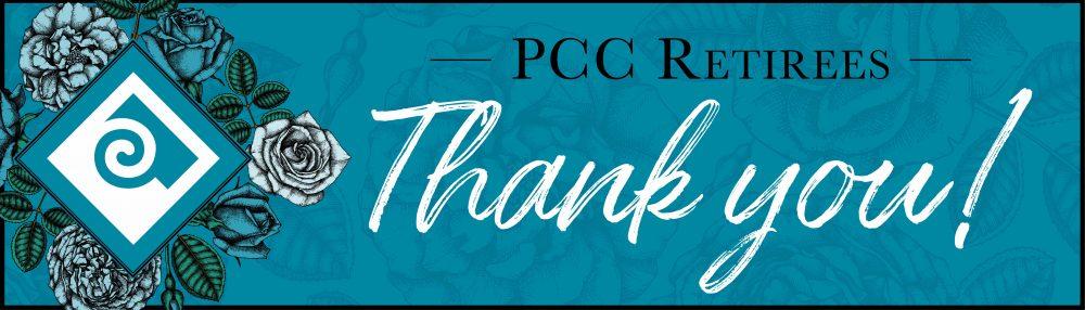 Thank You, PCC Retirees