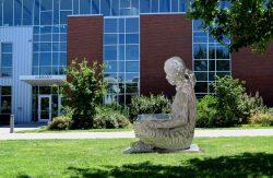PCC Reader outdoor sculpture