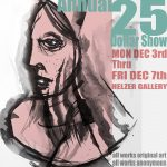 Rock Creek Annual 25 Dollar Show - all works original art, all works anonymous, all works 25 dollars