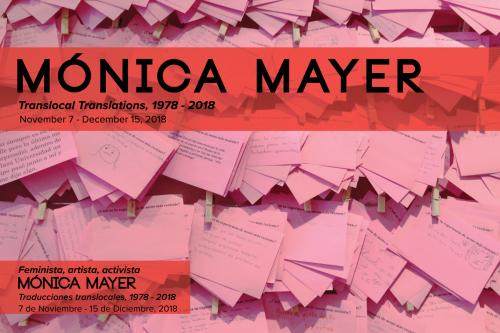 Monica Mayer showcard