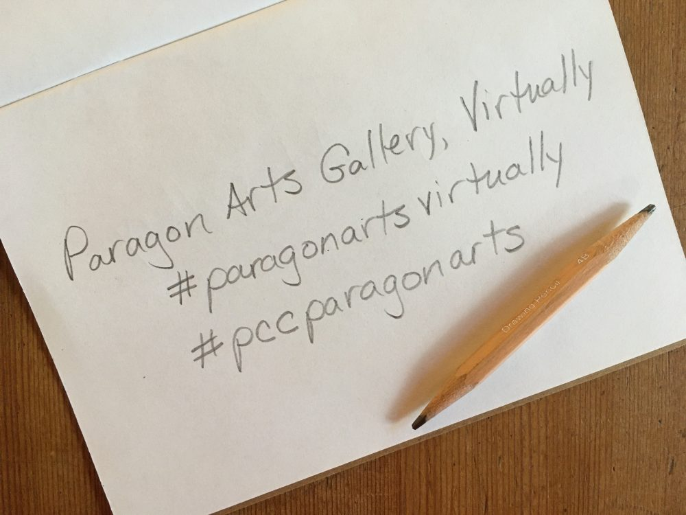 image of the title of the project with hashtags