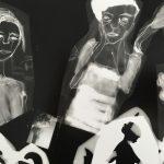 """Tyler Hohnstein, Collage, 2005, photogram, 8"""" x 10"""""""