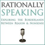 rationally speaking logo with microphone
