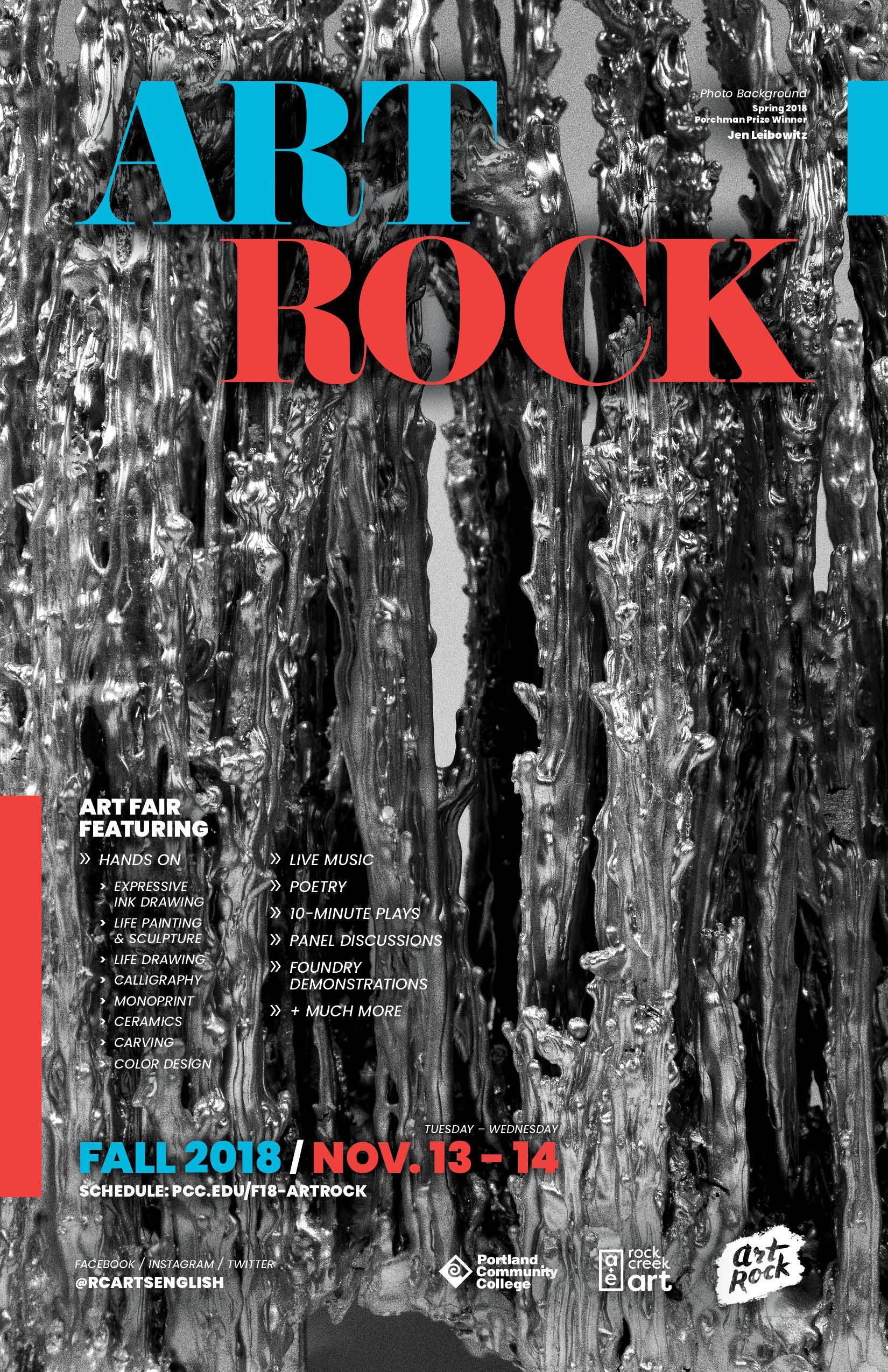 Art Rock Poster