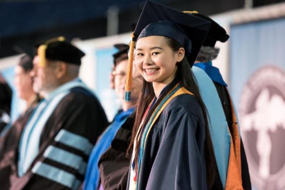 grad at graduation