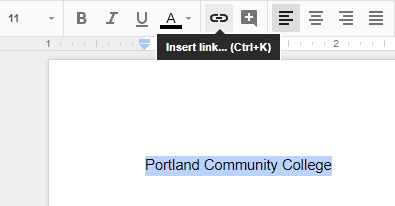 Google Docs | Instructional Support at PCC
