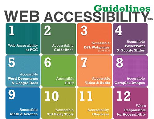 Web Accessibility handbook cover