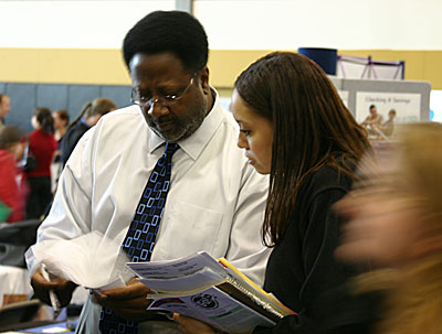 job fair attendees