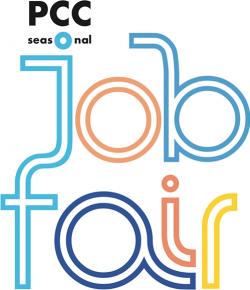 PCC Seasonal Job Fair logo