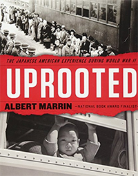 Book jacket for Uprooted by Albert Marrin