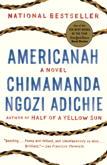 Americanah book jacket