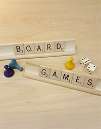 Announcement for Board Games for Checkout